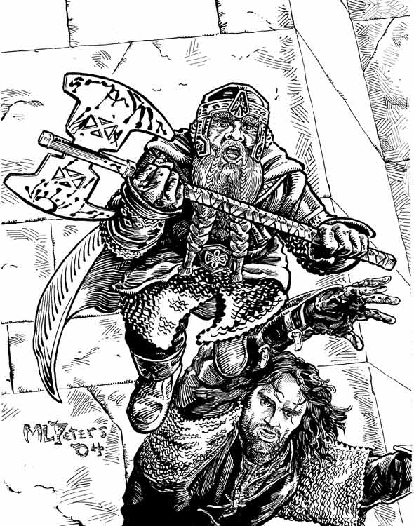 aragorn coloring pages | Commissioned Drawings